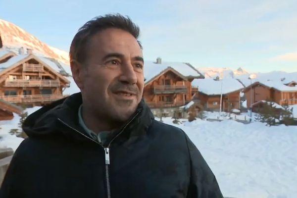 L'acteur José Garcia est président du jury de cette 23e édition du festival de l'Alpes d'Huez.