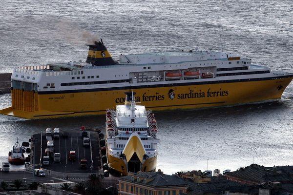 Le Mega Express Five de la Corsica Ferries