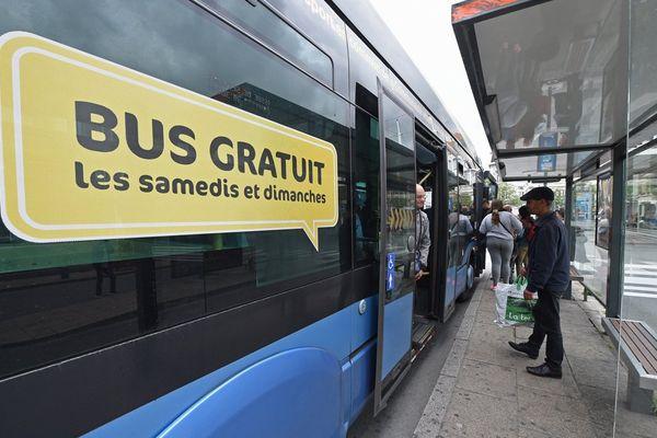 Un bus gratuit en Dunkerque