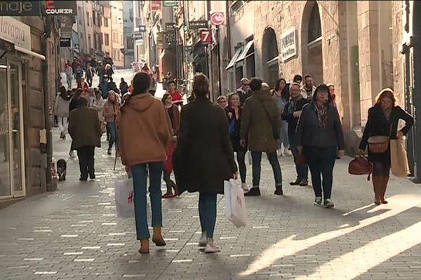 Des soldes d'hiver à priori moroses à Limoges.