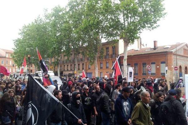Le rassemblement toulousain en hommage à Clément Méric samedi à Arnaud Bernard