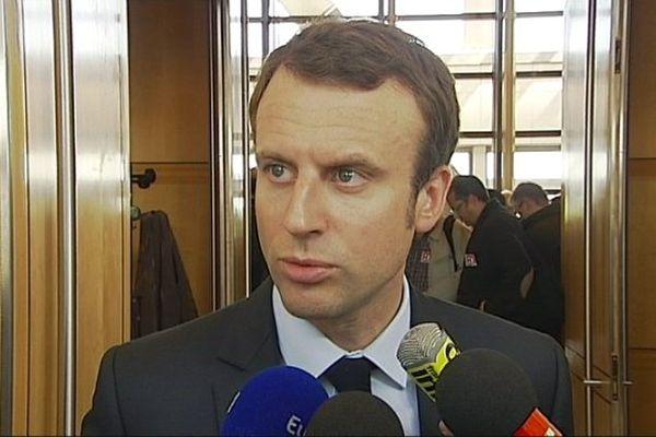 Emmanuel Macron, ministre de l'Economie