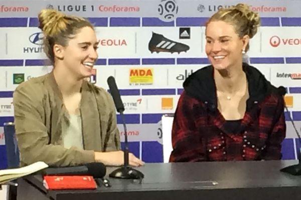 Amandine Henry et Morgan Brian à Lyon le 10/01/2018