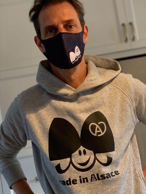Les ventes des masques de Made in Alsace ont permis de collecter 5.000 euros pour les hôpitaux alsaciens.
