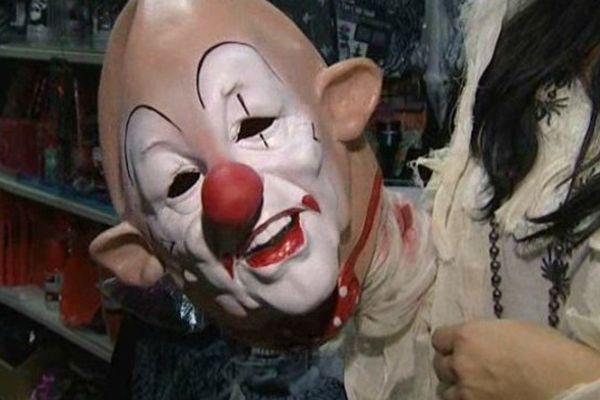 Pour Halloween, les clowns ne faisaient plus rire.