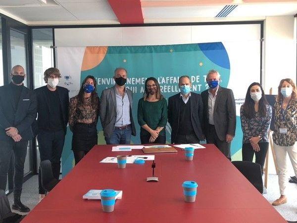 Le débat du 9 octobre, organisé par le Delta, a eu lieu dans la tour de La Marseillaise et a été diffusé en live sur Facebook afin de respecter les contraintes sanitaires.