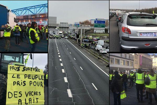 Des dizaines de manifestations ont été organisées dans toute la Normandie ce samedi 17 novembre