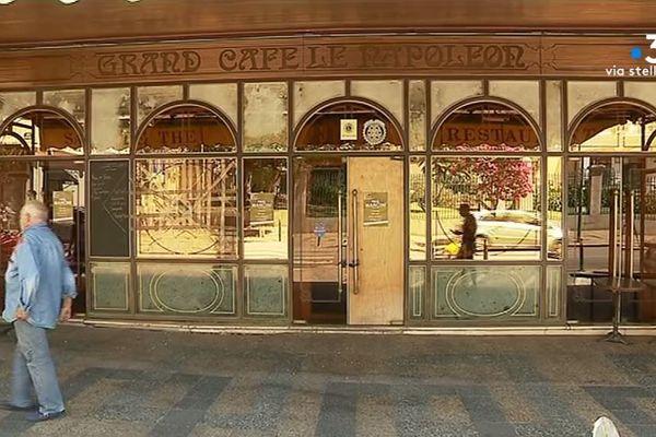 À Ajaccio, le Grand Café Napoléon a fermé ses portes.