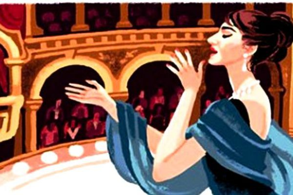 Un Doodle pour la Callas