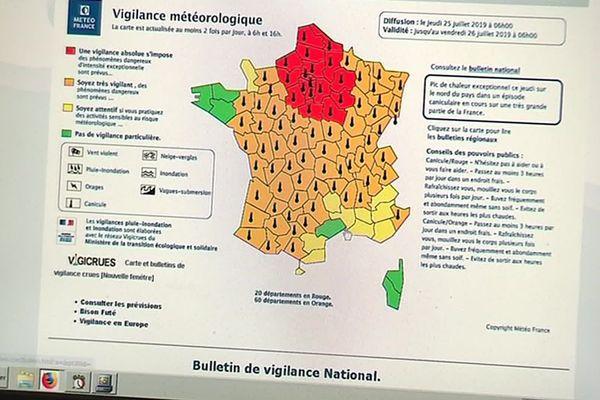 Canicule : du vert pour l'Hérault et du jaune pour le reste du Languedoc .