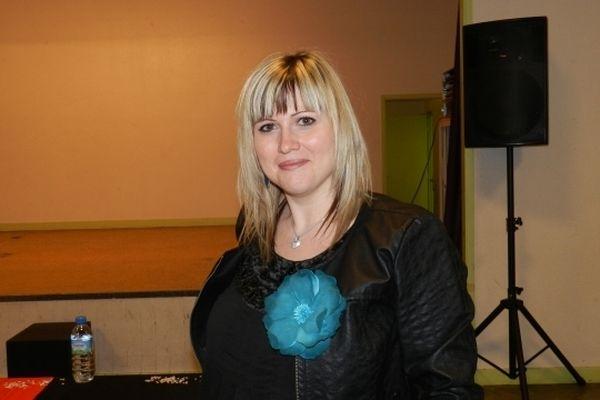 Delphine Tuel, 30 ans, a été élue Miss Ronde Auvergne 2012 à Clermont-Ferrand, le 14 décembre 2012.
