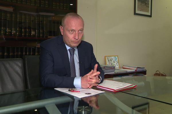 Le procureur de la République de Chartres Rémi Coutin a donné une conférence de presse vendredi 27 février.