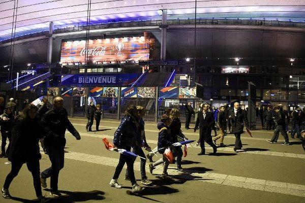 Le 13 novembre dernier, un terroriste s'est fait exploser aux abords du Stade de France.