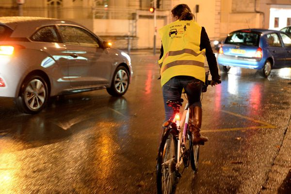Indispensable éclairage des vélos