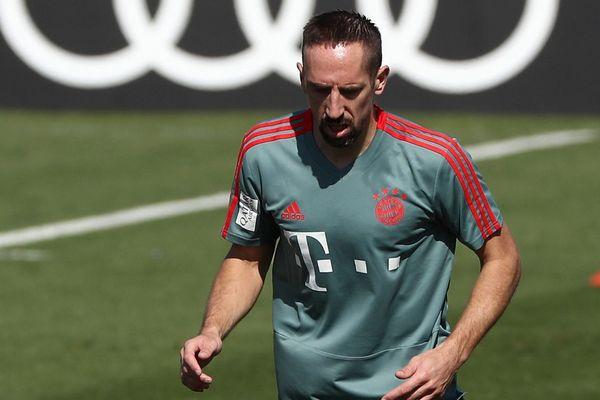 Franck Ribéry en stage au Qatar ce samedi 5 janvier