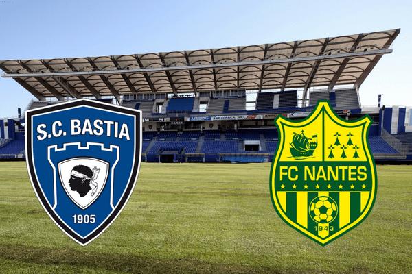 Le FC Nantes se déplace sur la pelouse du SC Bastia