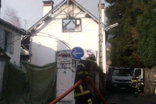 Les pompiers ont évité toute propagation.