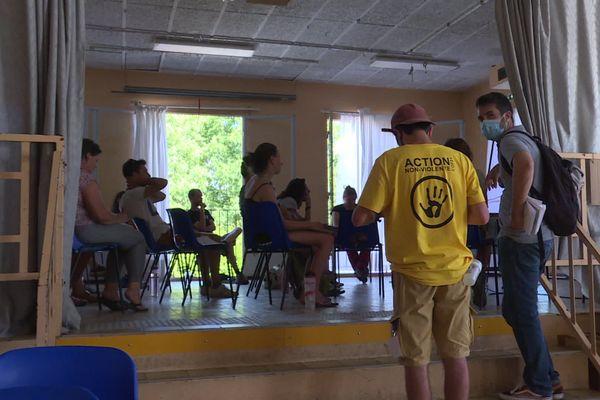 """Camp Climat Doubs Jura à Port-Lesney dans le Jura : quatre jours pour se former à la stratégie de lutte non-violente pour """"la justice climatique et sociale"""""""