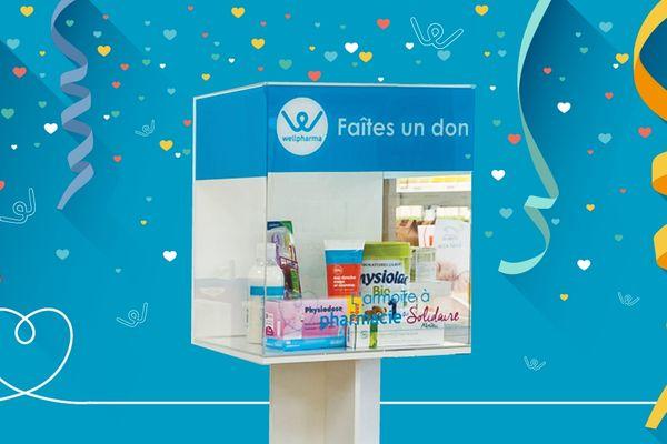 """L'opération """"armoire à pharmacie solidaire"""" vient de fêter son premier anniversaire."""