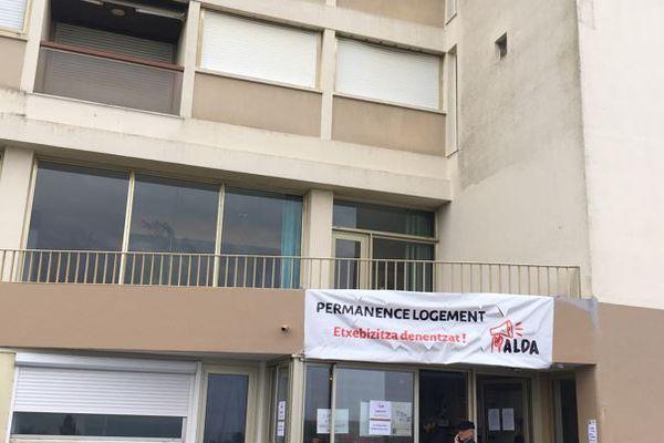 Cet appartement est occupé par des militants du collectif Alda / © France 3 Euskal Herri - Stéphanie Deschamps