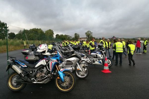 Journée de sécurité routière pour les motards de Lot-et-Garonne, dimanche 19 septembre 2021.
