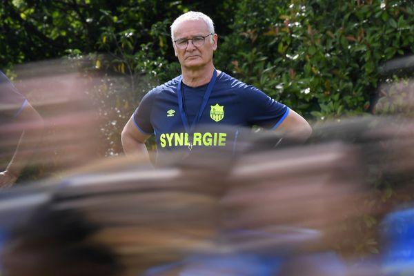 Claudio Ranieri, le coach du FC Nantes