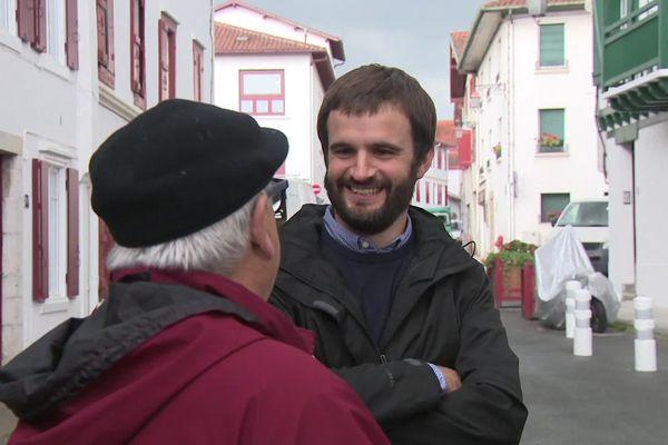 Eneko Aldana-Douat - liste régionaliste ZIBURU BIZI 2020 - en tête à Ciboure au Pays Basque