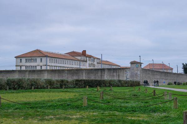 La maison centrale de Saint-Martin-de-Ré, le 22 février 2020
