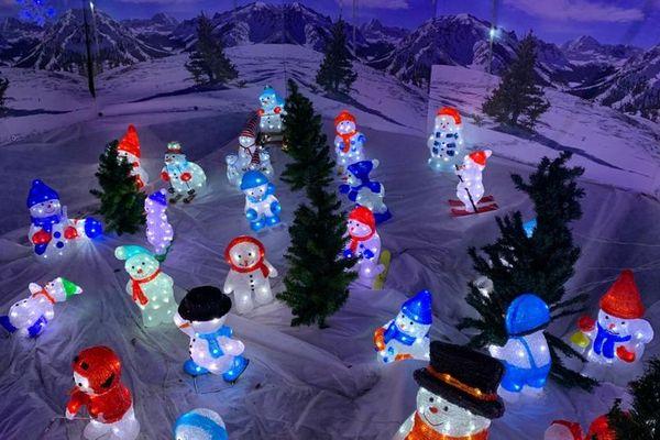 Nouveauté 2019, des bonhommes de neige au ski !