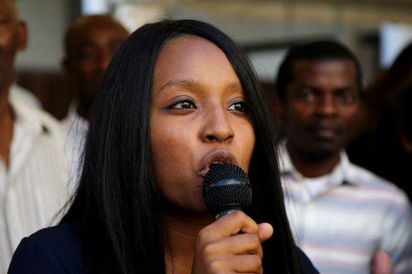 Sarah Soilihi, candidate de la France insoumise dans la 3e circonscription des Bouches-du-Rhône