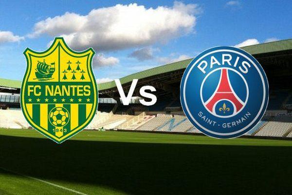 Le FC Nantes affronte le PSG sur sa pelouse de la Beaujoire