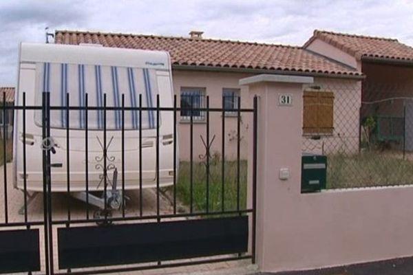 Aubenas : un lotissement pour les gens du voyage sur le site de Ponson - Un habitat dont les caravanes font encore partie...