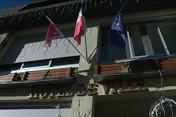 La mairie d'Ax-les-Thermes