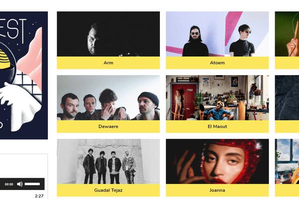 20 artistes bretons sur la compilation GO OUEST