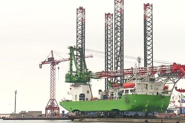 D'ici à sa préparation pour sa prochaine mission, le navire Apollo stationnera sur le port de Dunkerque jusqu'à la fin du mois de mars 2019.