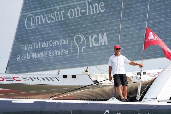 L'équipage d'Idec Sport a mis 12 jours, 20 heures, 37 minutes et 56 secondes pour relier l'île Maurice au Vietnam.