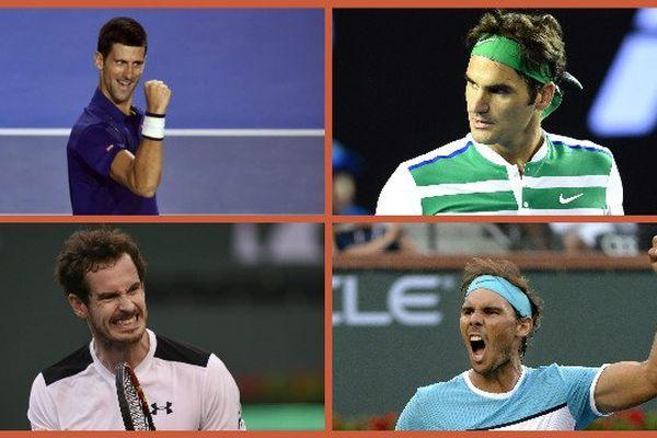 """Le """"Big Four"""" réuni à Monte-Carlo avec le retour de Murray."""