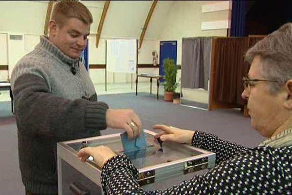 Second tour des élections à Saint-Germain-du-Puy (Cher)