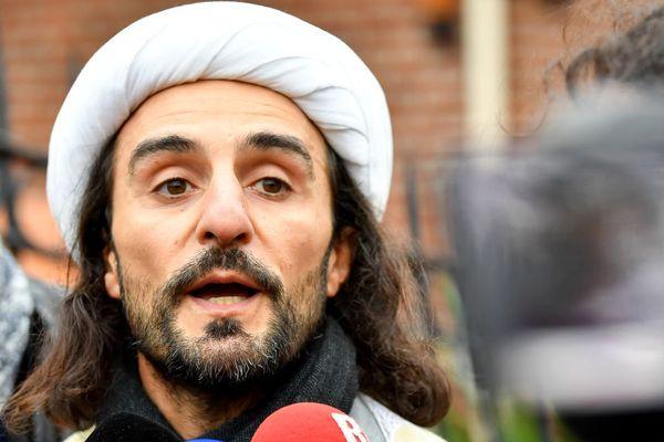 Jamel Tahiri, ex-responsable du centre, interrogé en marge de l'opération de police qui avait visé les locaux fin 2018.