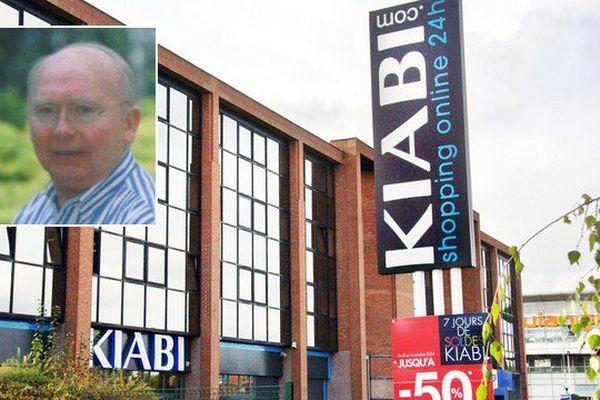 Patrick Mulliez, en médaillon, a créé l'enseigne Kiabi en 1978.