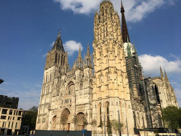 la cathédrale de Rouen le dimanche 14 avril 2019