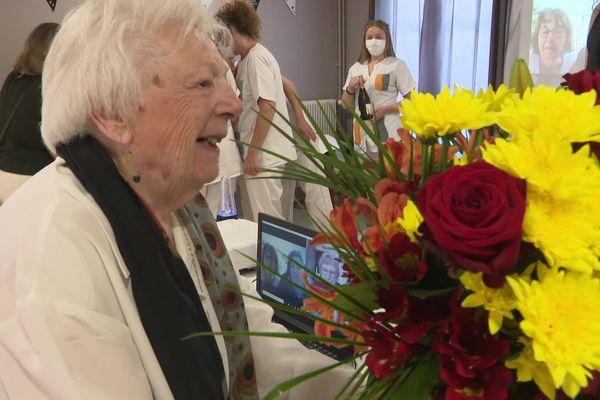 Juliette fête ses 100 ans en confinement
