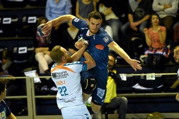 Montpellier a sorti Toulouse de la coupe de France de handball en quart de finale