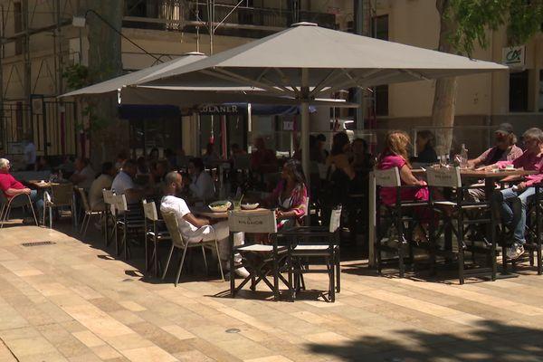 Les terrasses accueillent déjà du public depuis le 19 mai en jauge réduite