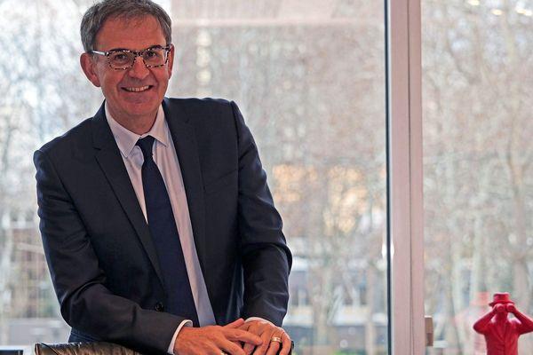 David Kimelfeld, maire du 4e arrondissement de Lyon et patron des socialistes du Rhône