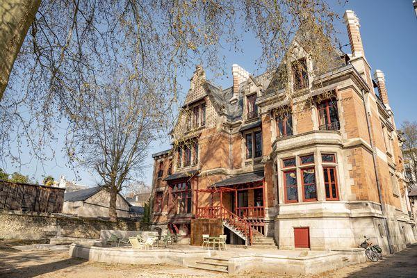 La villa Rabelais, siège de la Cité de la Gastronomie à Tours.