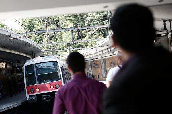 La modernisation du RER B fait partie des travaux programmés ce weekend (illustration).