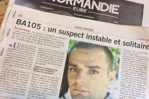 Une photo publiée par nos confrères du quotidien Paris Normandie