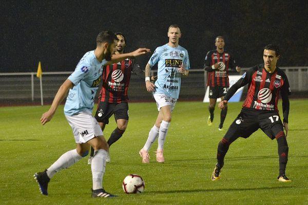 Jeudi 1er novembre 2018, le FC Chambly a rencontré Cholet en 12ème journée de National