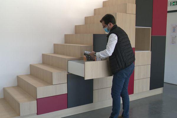 Un escalier plein de ressources